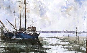 artclasses, watercolour, merseyside.demonstration given by artist roger jenkins