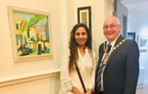 Varsha has painting accepted in the lancashire open exhibition at chapel gallery, ormskirk, lancashire. Membeer of the sefton art group and art class, beginners